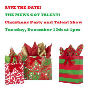 The Mews' Christmas Party and Talent show